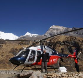 Mount Annapurna Base Camp Helicopter Landing Tour