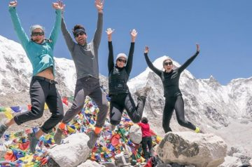 Mandy Moore On Everest Trek