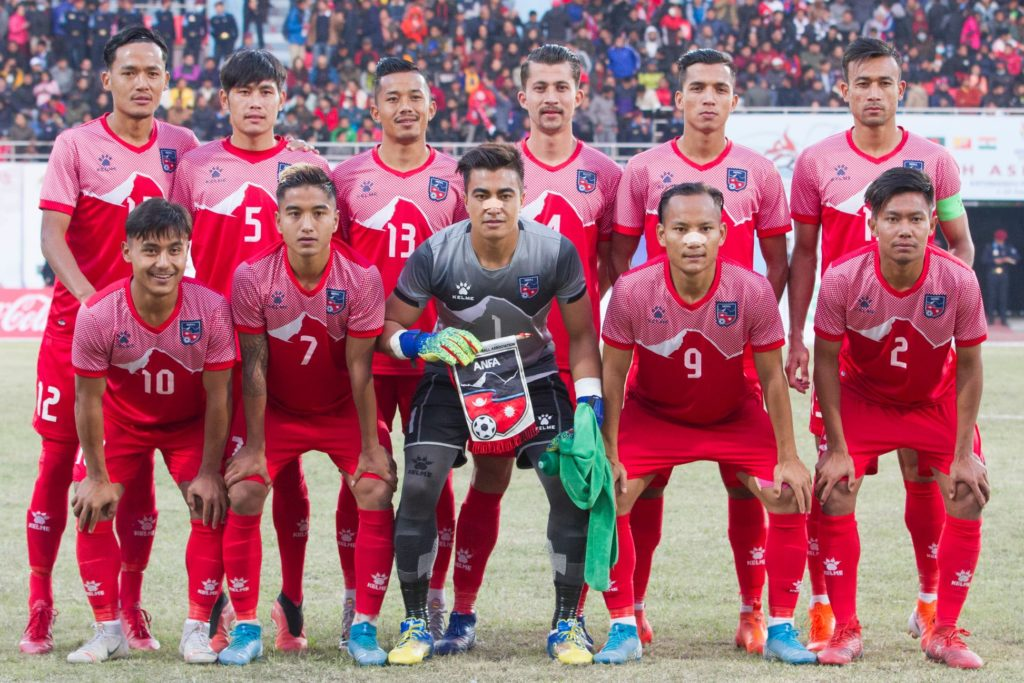 National Football team of Nepal
