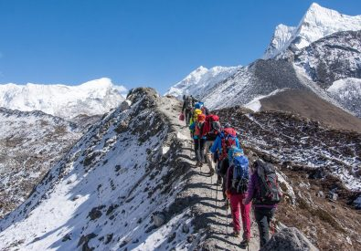 The Himalayan treks and expedition