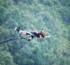 Bungee Jumping at The Last Resort